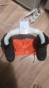 Преносима електрическа закачалка и сушилня AIRFEN photo review